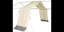 Abdeckstreifen, PVC weiß, für PZ 300-500 und Typ 300