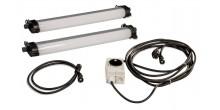 Rofi LED Leuchten Set 2, IP65,