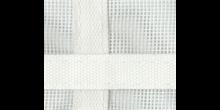 Fenstergaze 65x45cm mit Gurtkreuz PVC