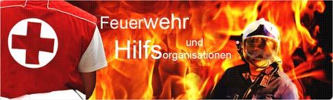 Feuerwehr und Hilfsorganisationen