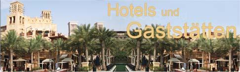 Hotels und Gaststätten