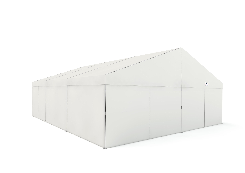 ZH Grundmodul 8x6 m Zelthallen mit 84 x 48 mm ALU Gerüst