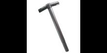 Knotenstück Aluminium 40 mm - 3er verlängert