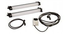 Rofi LED Leuchten, kurz, Set 2, IP65,
